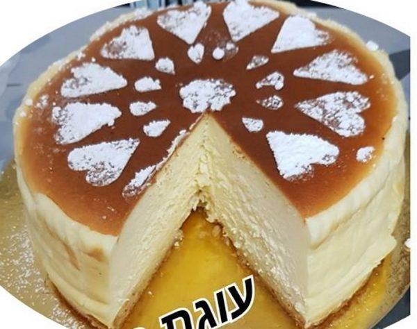 מתכון כתוב + סרטון להכנת עוגת גבינה אפויה עם בסיס טורט_זקלין פדלון