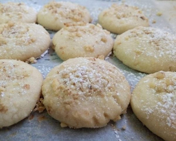 עוגיות אגוזים רכות מאוד