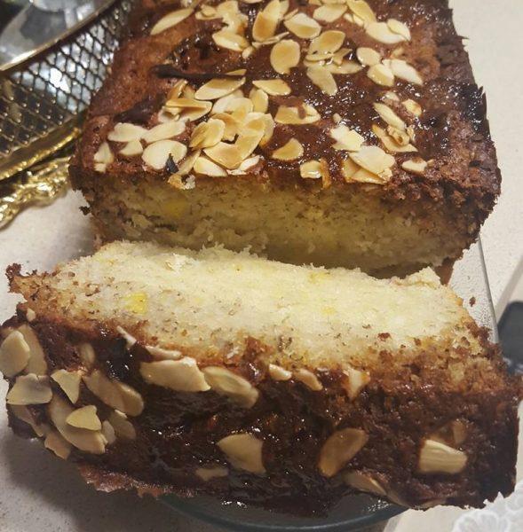 עוגת בננות עם קוקוס ורום_מתכון של נורית יונה