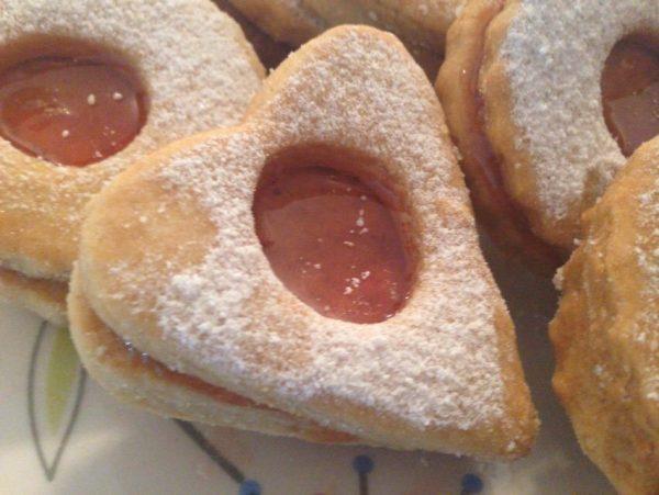 עוגיות ריבה פריכות