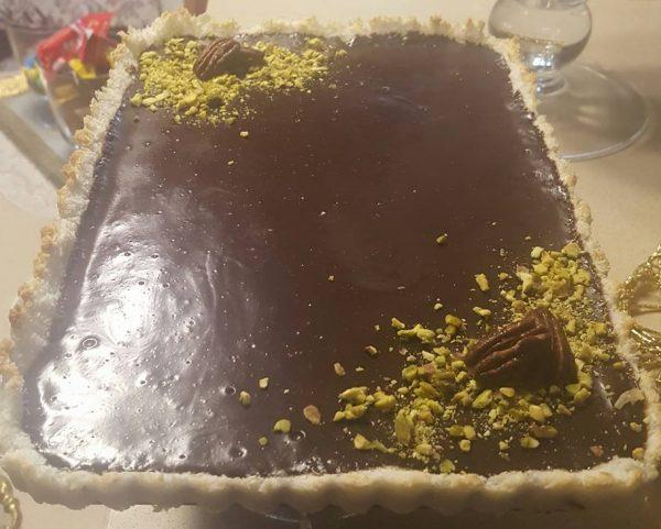 פאי קוקוס ושוקולד