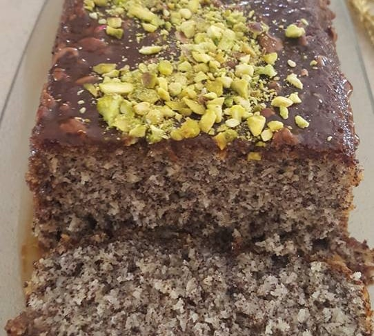 עוגת פרג מדהימה_מתכון של נורית יונה