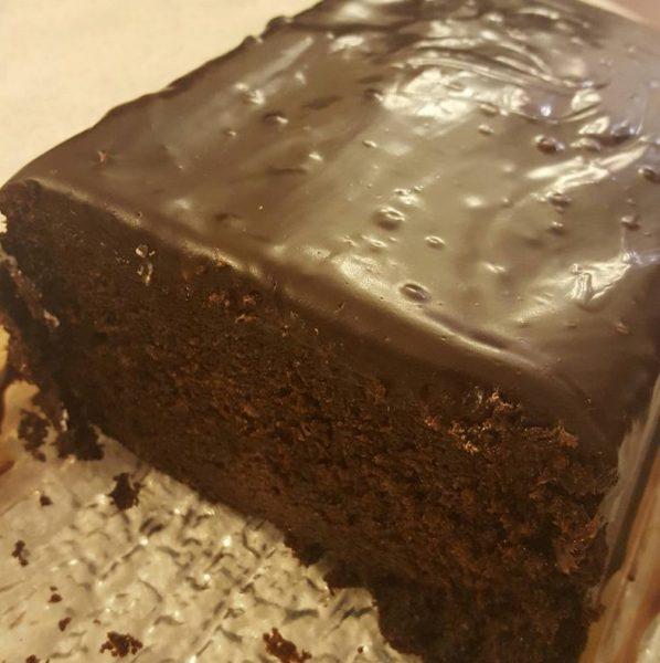 פס שוקולד מענג עטוף בגאנש מריר