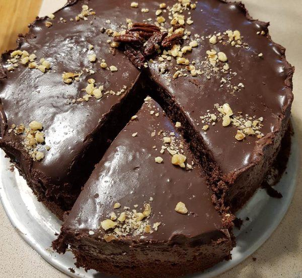 עוגת שוקולד מריר