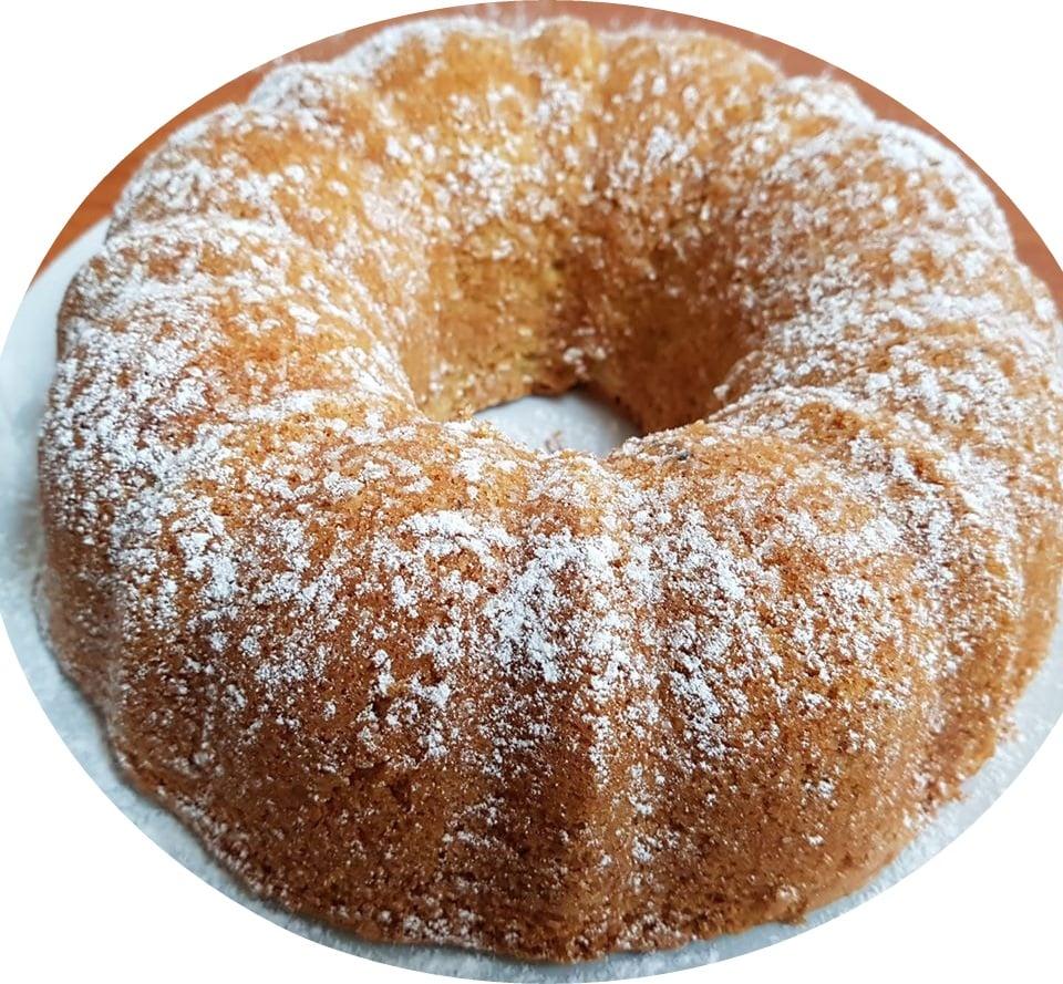 עוגת וניל קוקוס ושמנת מתוקה