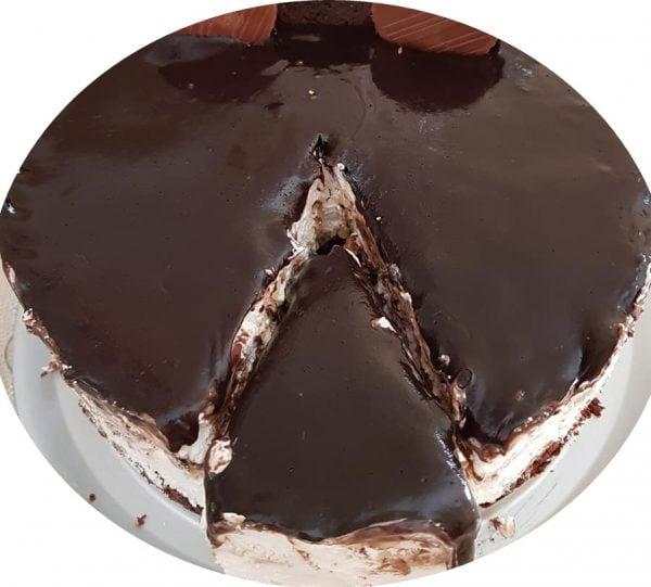 עוגת שוקולד, אוראו וניל וגבינה