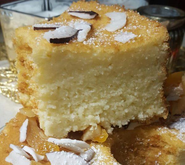 עוגת טורט תפוז לימון קוקוס ויוגורט_מתכון של נורית יונה