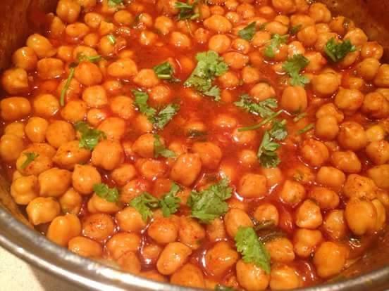 תבשיל גרגרי חומוס