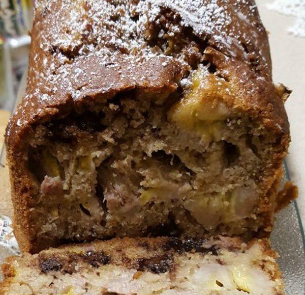 עוגת משקה בטעם מוקה קוקוס ובננות_מתכון של נורית יונה