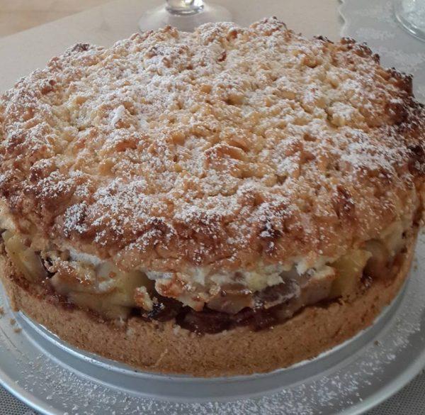 עוגת תפוחים שש שכבות של עונג