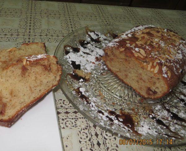 עוגת שקדים ונוגט