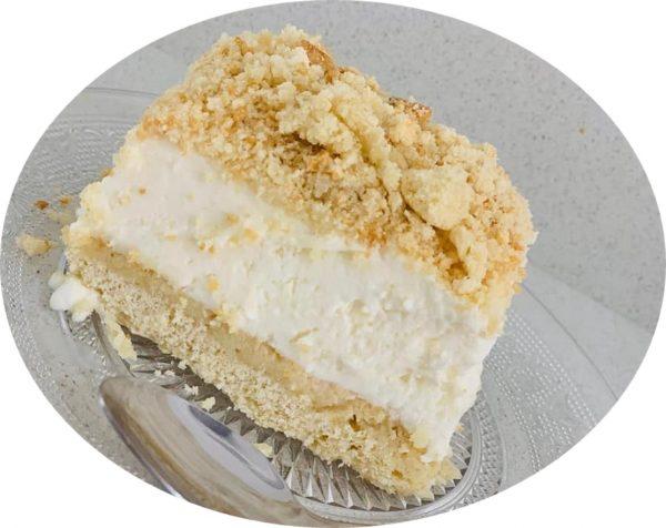 עוגת שמנת עם שמנת מתוקה