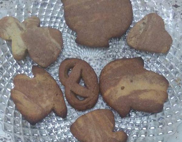 עוגיות שוקולד ווניל