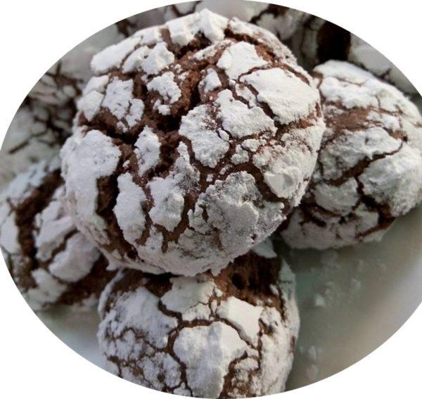 עוגיות מושלגות עם טיפת שינוי
