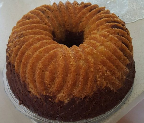 עוגת שיש של אהרוני עם שינויים קלים שלי