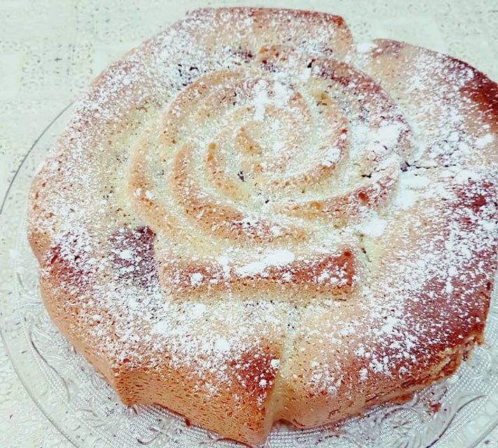 עוגת שיש פרווה בטעם קפוצ'ינו