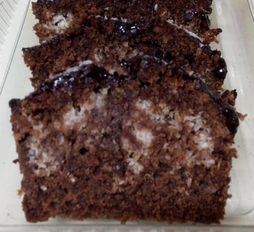 עוגה שוקולד קוקוס פרווה_רוחמה כהן