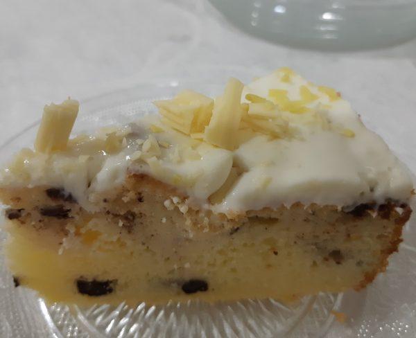 עוגת לימון וקינמון חלבית