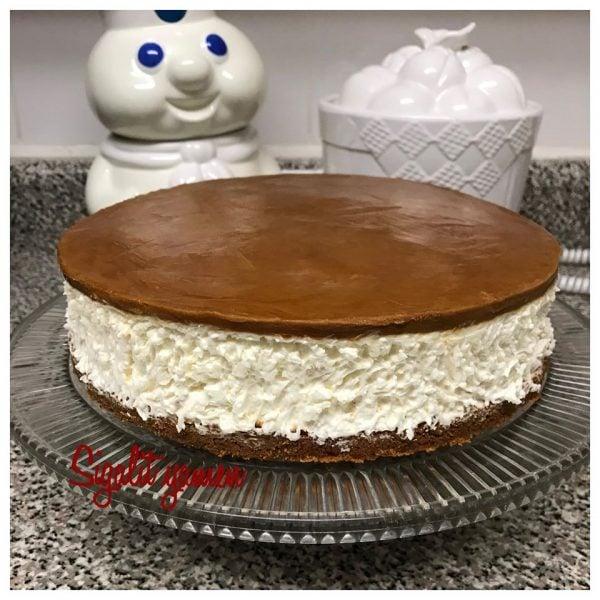 עוגת ביסקוויטים קרה לוטוס