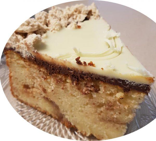 עוגת שוקולד לבן וחלבה_מתכון של נורית יונה