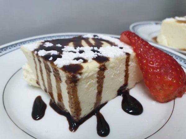 עוגת גבינה ללא קמח כמו בבית מלון