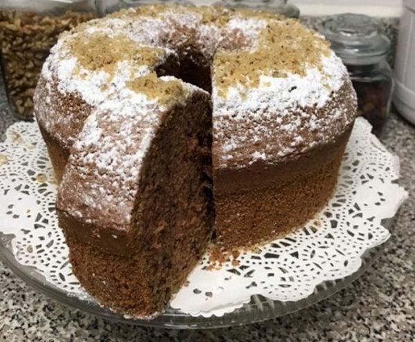 עוגת טורט שוקולד אגוזים