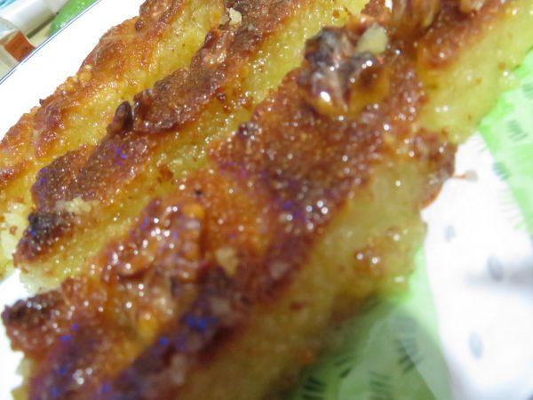 עוגת סולת / ספרה