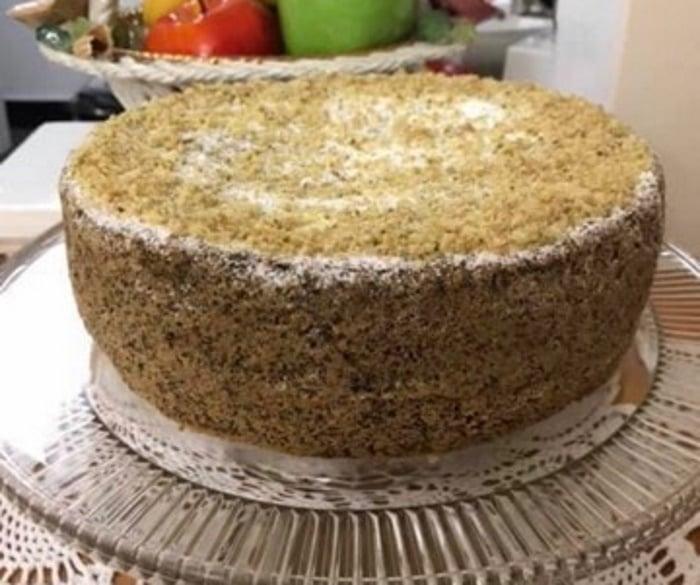 עוגת פרג אגוזים
