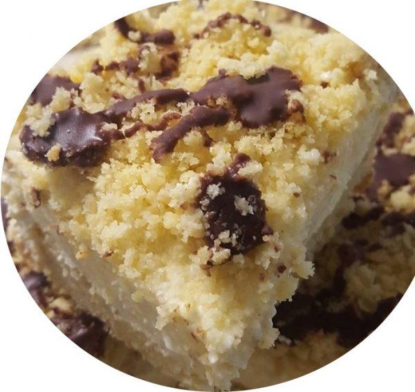 עוגת שמנת פירורים של פעם_מתכון של נורית יונה