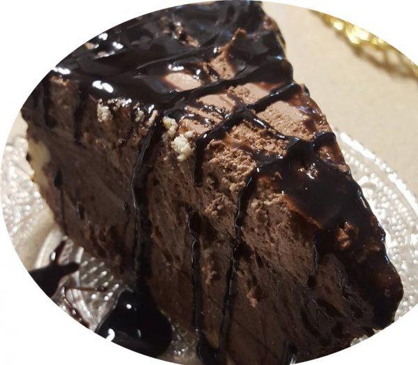 עוגת גבינה אפויה שוקולדית_מתכון של נורית יונה