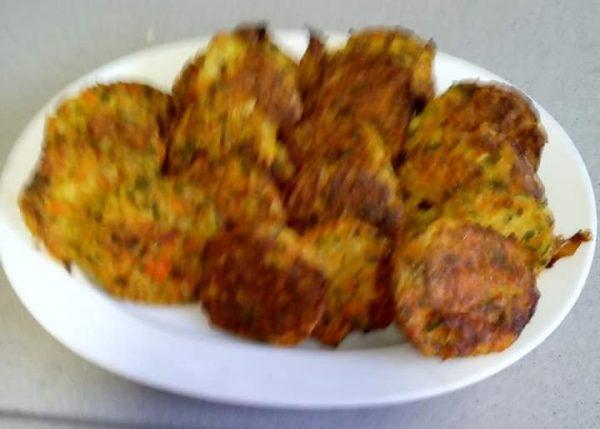 לביבות ירק בתנור
