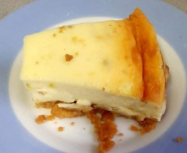 עוגת שמנת ופיסטוק