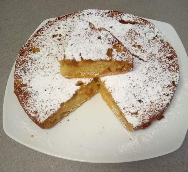 עוגת תפוז ונקטרינה