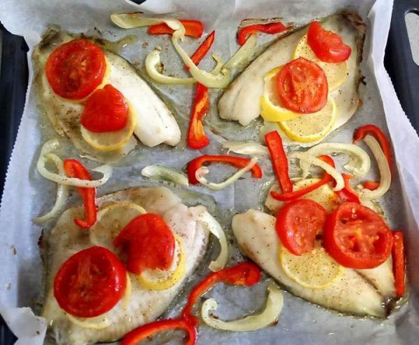 דגים בתנור