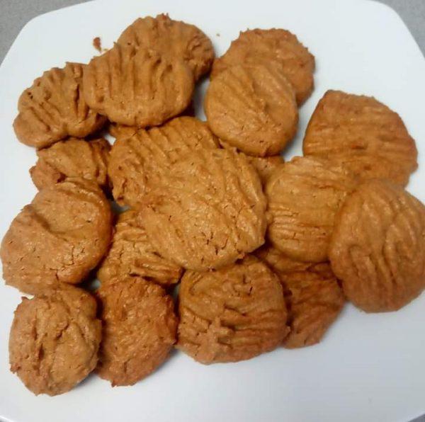 עוגיות חמאת בוטנים