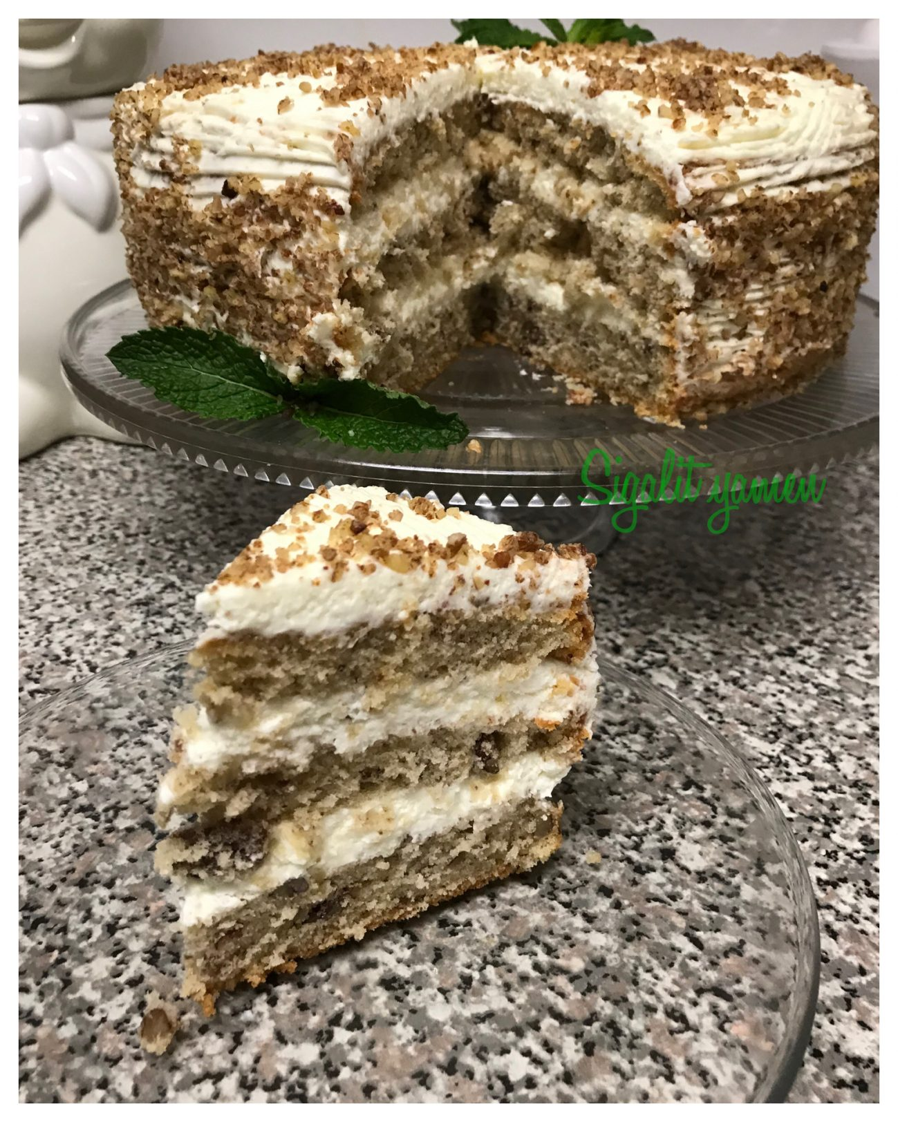 עוגת טורט פיקאן מעדן