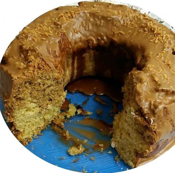 עוגת קוקוס רום ולוטוס