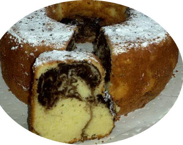 עוגת שיש מדהימה..רכה גבוהה וטעימה
