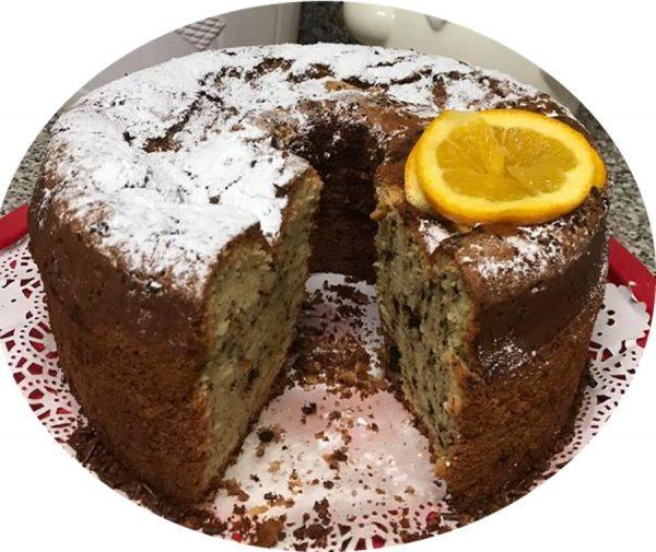 עוגת תפוזים גבוה עם שוקולד צ׳יפס_מתכון של סיגלית ימין