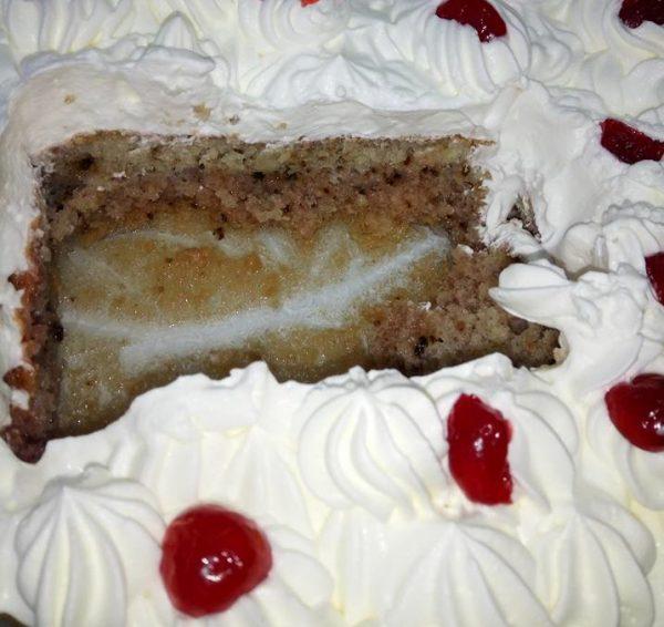 עוגת סברינה עם פירורי לחם
