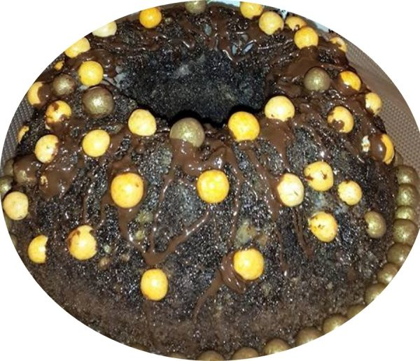 עוגת פרג נימוחה / פרי דמיוני