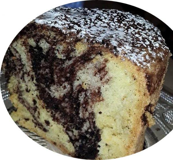 עוגת שיש גבוהה