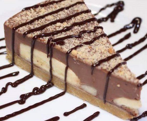 עוגת שוקלד בננה ללא אפייה