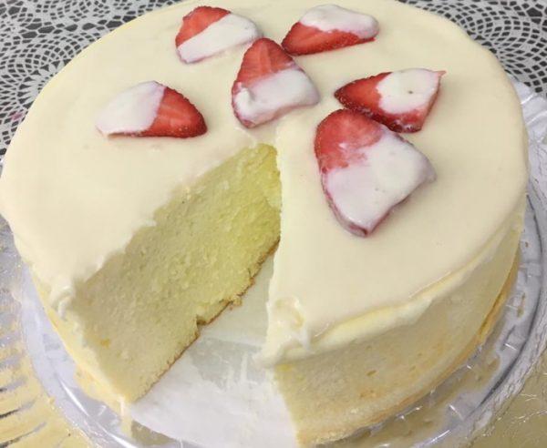 עוגת גבינה מוצלחת במיוחד