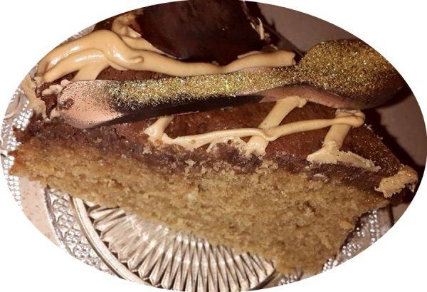 עוגת נס קפה ושוקולד
