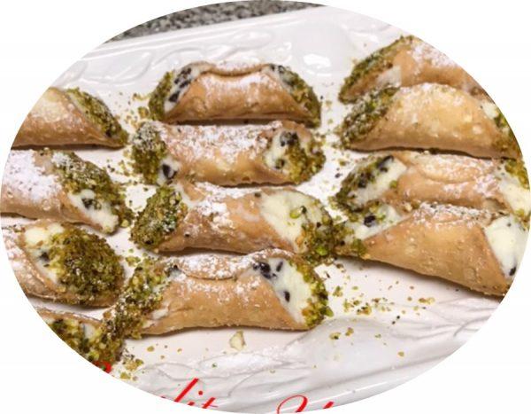 עוגיות קנולי ….. מתכון איטלקי