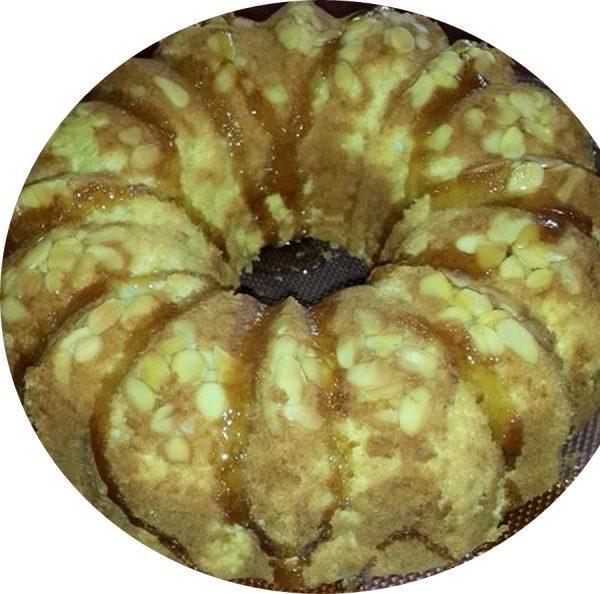 עוגת שקדים ללא קמח