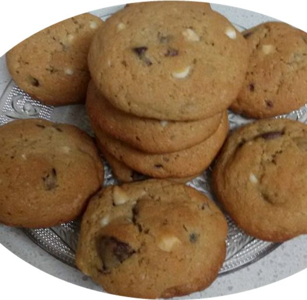 עוגיות שוקולד ציפס ריחניות וטעימות