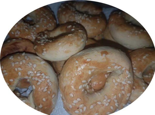 עוגיות עבאדי / כעכים מלוחים