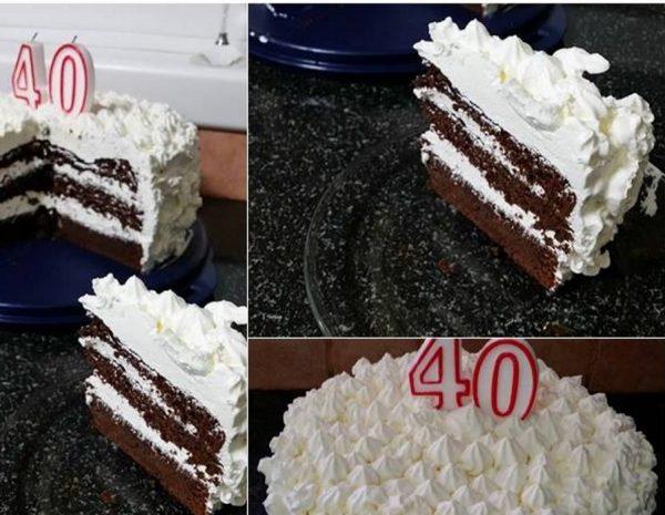 עוגת שוקולד – נוסטלגית